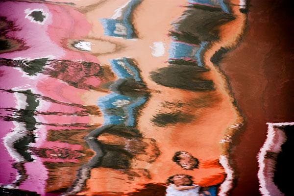Venezianische Unterwelten VI  ·  150 x 100 cm  ·  Preis auf Anfrage  ·   © Karena Kanamüller