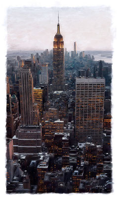 New York · 90 cm x 160 cm · Leinwand auf Keilrahmen: € 1.150,-