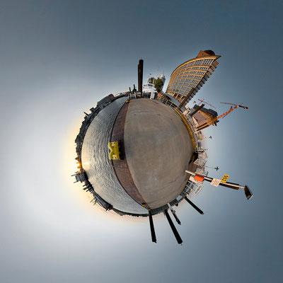 Kehrwieder · 90 x 90 cm · Leinwand auf Keilrahmen: € 640,- ·  Aludibond: € 780,- ·  Acrylglas auf Aludibond: € 940,-  · © Stefan Korff