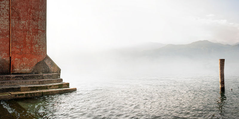 Gardasee I · 160 x 80 cm · Leinwand auf Keilrahmen: € 820,- ·  Aludibond: € 990,- ·  Acrylglas auf Aludibond: € 1.230,-  · © Stefan Korff