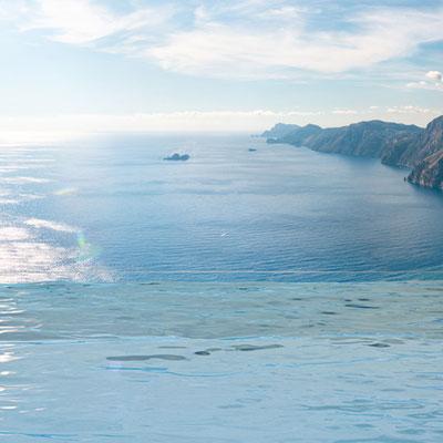 Ausblicke Amalfi Coast