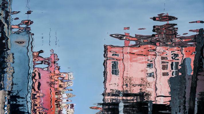 Venezianische Unterwelten V  ·  170 x 95 cm · Preis auf Anfrage ·  © Karena Kanamüller