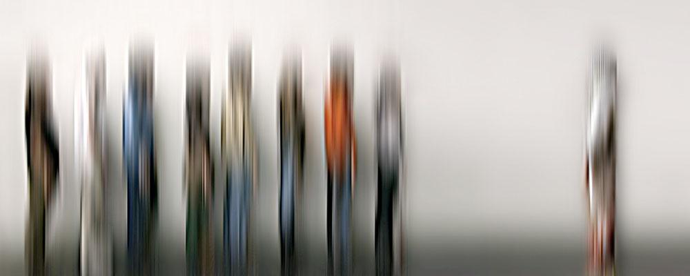 Grenzgang 7 · 150 x 60 cm · Leinwand auf Keilrahmen: € 620,- · Aludibond: € 780,- · Acrylglas auf Aludibond: € 940,-  · © Karena Kanamüller
