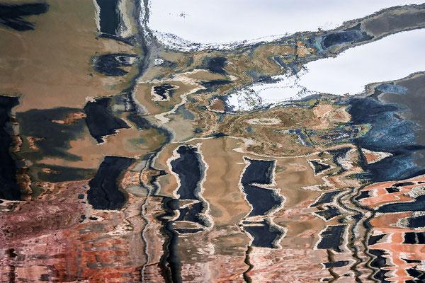 Venezianische Unterwelten XI ·  150 x 100 cm  ·  Preis auf Anfrage  ·   © Karena Kanamüller