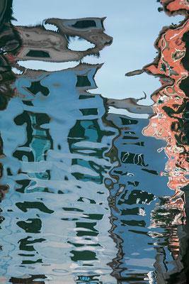 Venezianische Unterwelten IX  ·  80 x 120 cm  ·   Preis auf Anfrage  ·  © Karena Kanamüller
