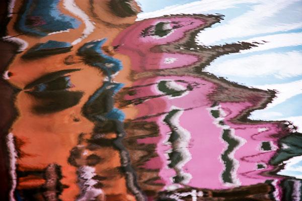 Venezianische Unterwelten IV  ·  150 x 100 cm  ·  Preis auf Anfrage  ·   © Karena Kanamüller