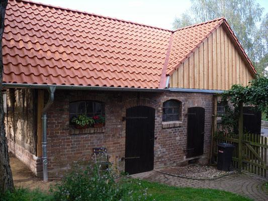 Scheunenumbau und Fassadensanierung - nachher