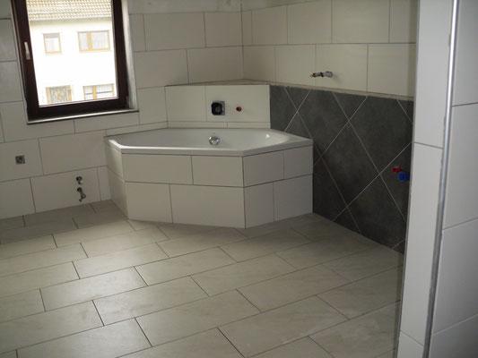 Umbau - Küche zum Bad
