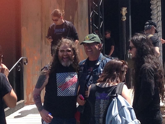 Jokeing with Tony Reed, Mos Generator, Hellfest 2018