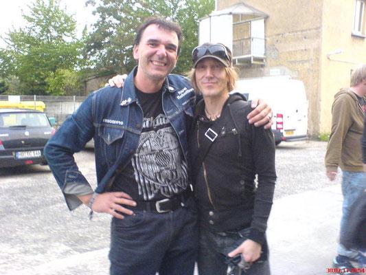 With Rich Mullins, Karma to Burn, Heidelberg, July 2011
