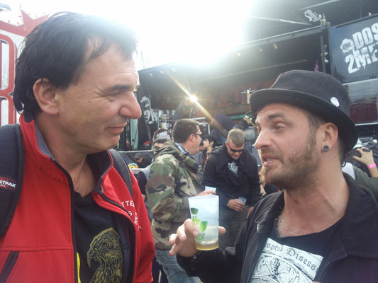 With Poun, Hellfest, June 2013