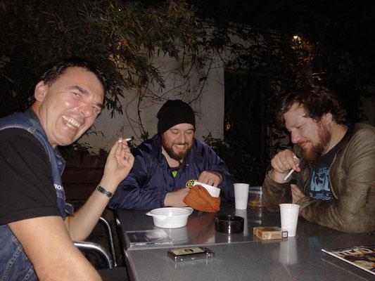 With Iddi and Andi @ Esslingen frisst Staub, 2014