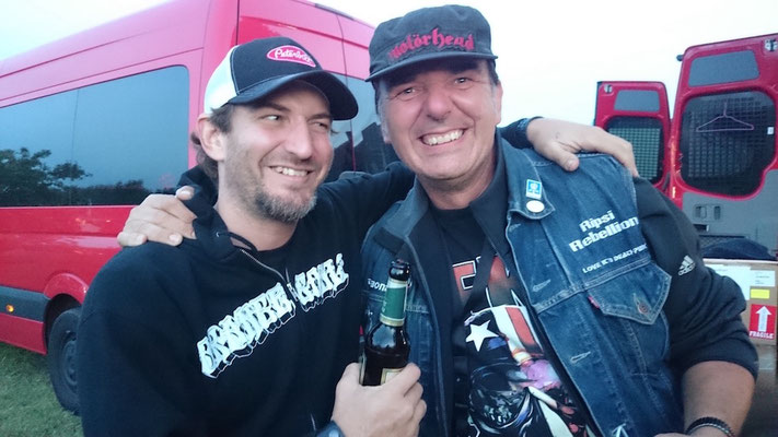 With Keith Gibbs, Sasquatsch, Stoned from the Underground, 2017