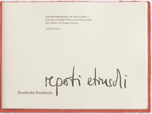 reperti etruschi (1999)