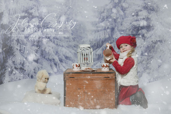 Wunderschöne Weihnachtsfotos im Fotostudio zwischen Rotenburg und Visselhövede