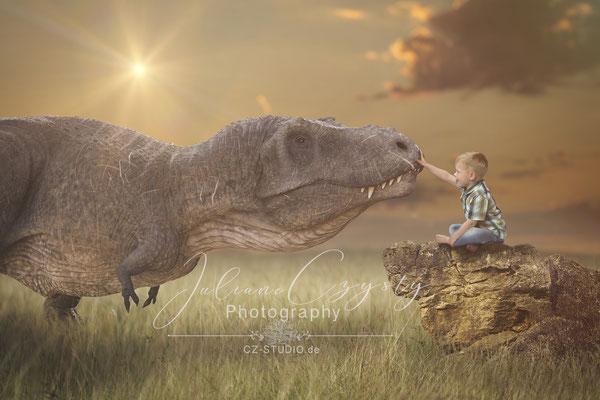 Dinosaurier Shooting - im Fotostudio zwischen Visselhövede und Rotenburg