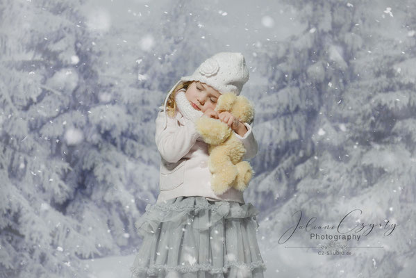 Winterliche Kinderfotos – Juliane Czysty, Fotostudio in Visselhövede