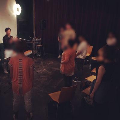 Ryu Heyzoボーカルワークショップ受講風景