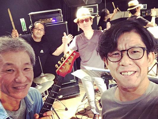 バンドメンバーとリハーサル