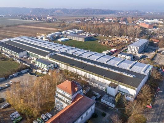 Immobilien aerialfotografie Dresden