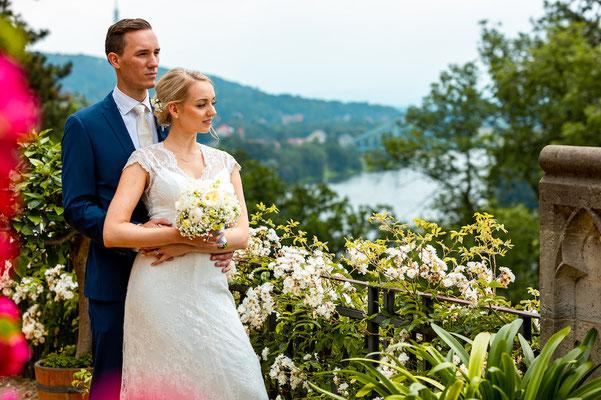 Hochzeitsfotograf Dresden, Blaueswunder, Schloss Eckberg Hochzeit,Wedding