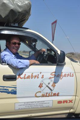 Klaus bei der Arbeit