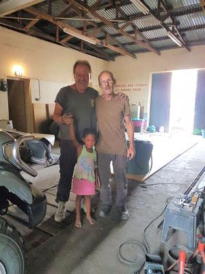 Der Mechaniker und sein Team