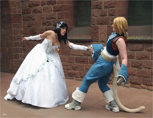 Final Fantasy IX - Garnet und Zidane