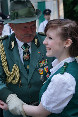 Jungschützenkönigin Madita Jürs.