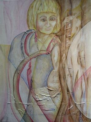 Sophie   H45 60 x 80cm       Acryl auf Hartfaser Apr 14