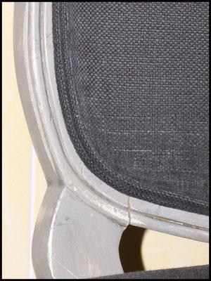 Artisanat: garnissage récup' de fauteuils