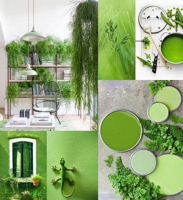 "Pantone ""greenery"""