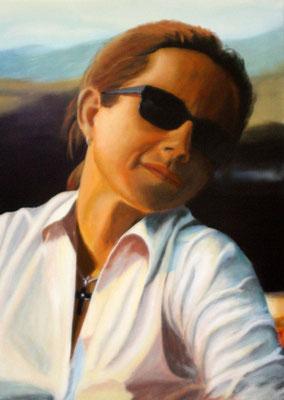 Titel: Florenz, 50x70 cm auf Leinwand - in Privatsammlung