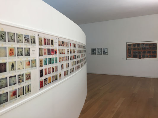 PHOTOstructuralism, Museum Serralves, Porto, exhibition view with works by Georg Herold and Ernst Caramelle