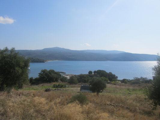 Blick vom Campingplatz nach Süden