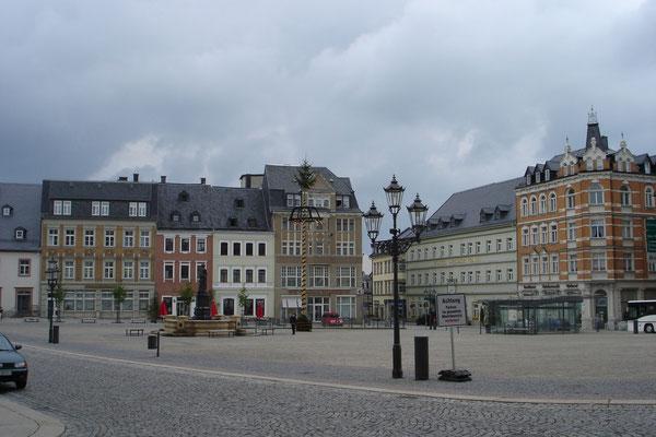 Stadtplatz in Schwarzenberg
