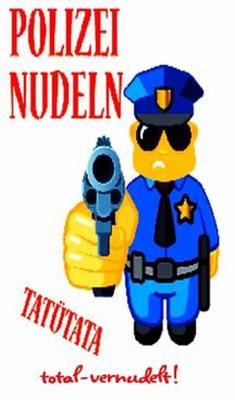 Polizei Nudeln