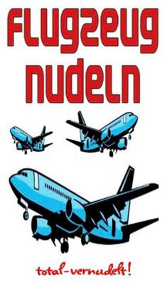 Flugzeug Nudeln
