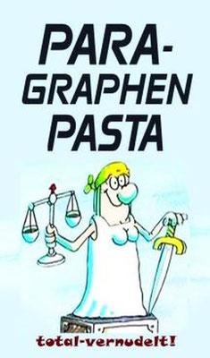 Paragraphen Pasta