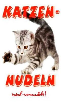 Katzen Nudeln