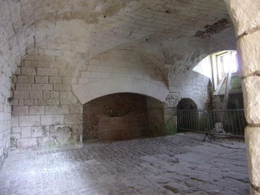 Château de Picquigny, la cuisine. Photo Damien Maupin