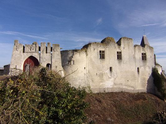 Château de Picquigny façade sud novembre 2015