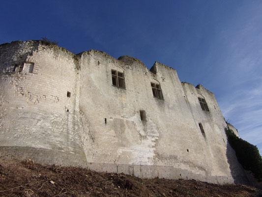 Château de Picquigny, façade sud depuis la rue des rossignols. Photo Damien Maupin