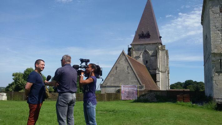 Château de Picquigny, reportage FR3 Picardie juillet 2016