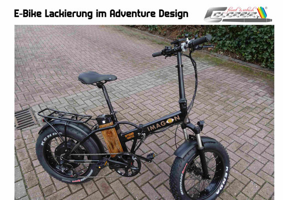 E-Bike Lackierung