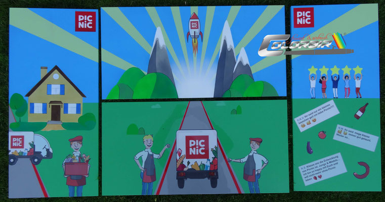 Schrankmalerei PicNic Schrankdesign