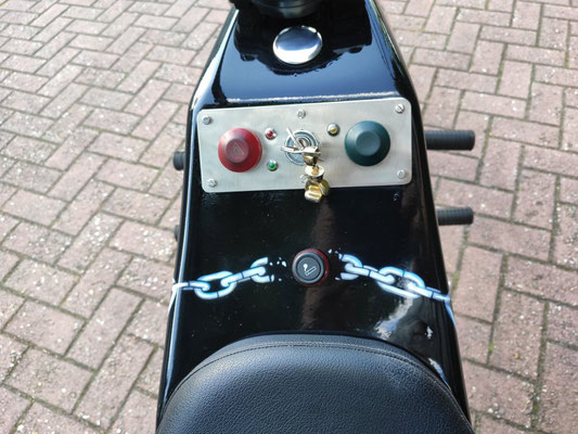 Trike Airbrush Kettendesign