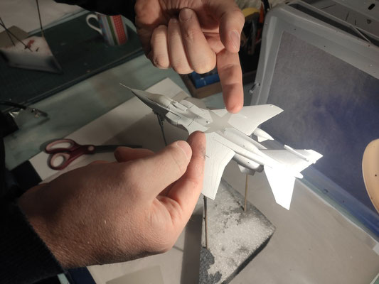 Plastikmodelle lackieren