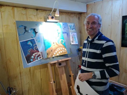 Airbrush Erlebniskurse, Abschalten und Entspannen mit der Airbrush Kunst