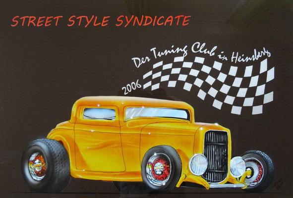 Hot Rod Airbrush Car Painting